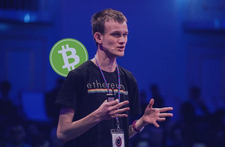 Vitalik Buterin sugere a utilização do Bitcoin Cash como camada de dados para o Ethereum