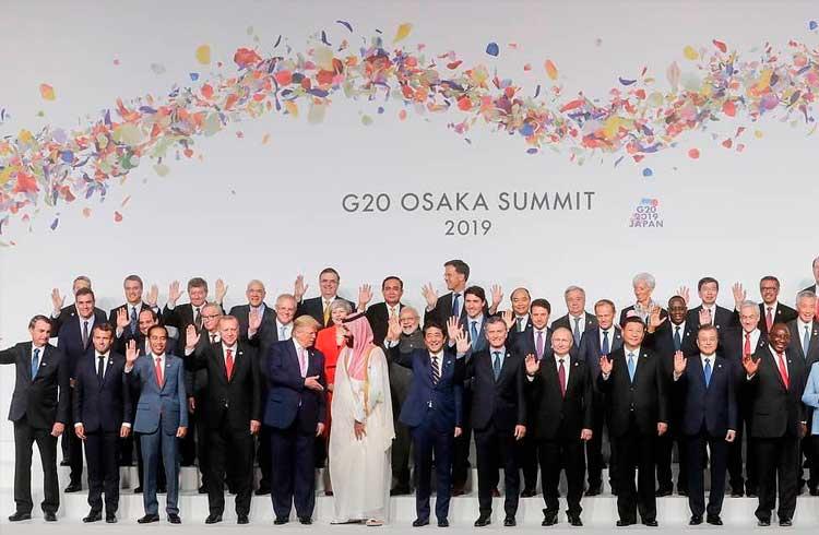 G20 reafirma posição sobre criptomoedas em declaração