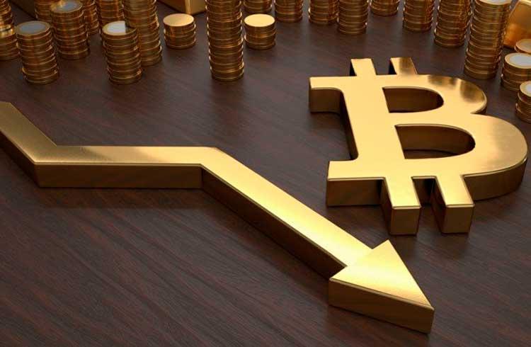 Mercado de criptoativos segue desvalorizando e Bitcoin volta para a faixa dos US$10 mil