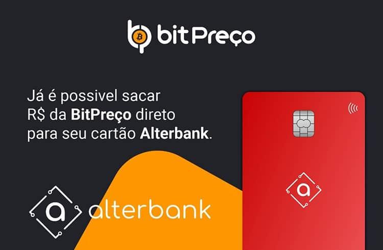 BitPreço fecha parceria com o Alterbank, permitindo saques 24h
