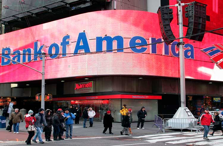 Bank of America registra patente de carteira de criptomoedas