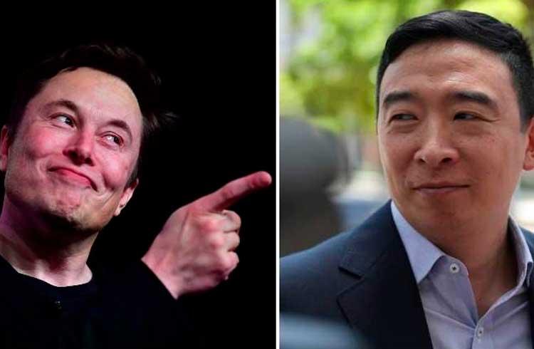 Elon Musk anuncia apoio a candidato para presidência dos EUA que defende o Bitcoin
