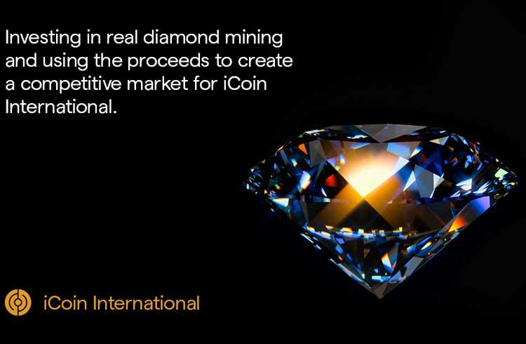 iCoin International leva a mineração de Diamantes à Blockchain e lança seu IEO