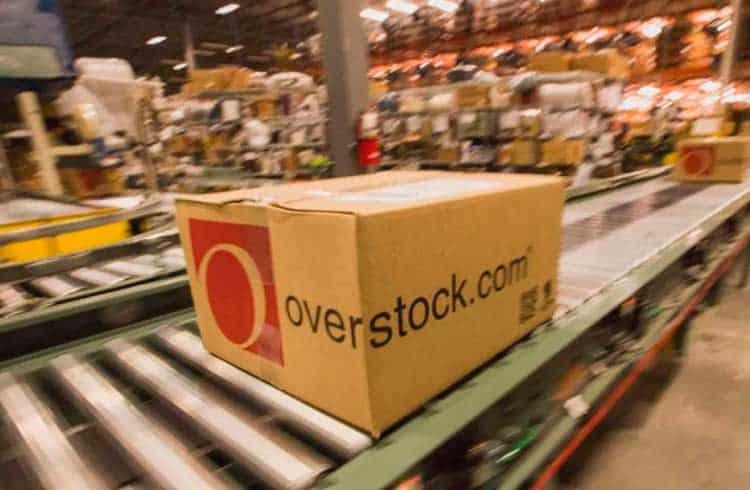 Overstock pagará dividendos em criptoativos aos seus acionistas