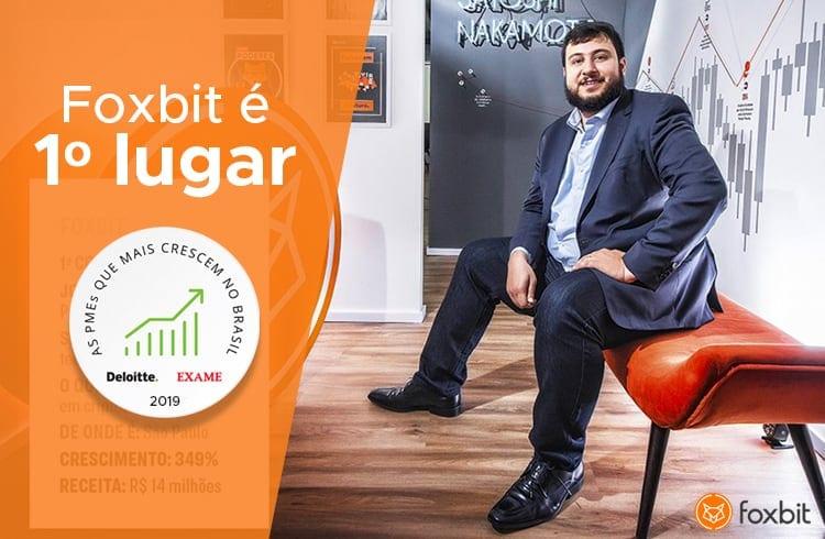 Foxbit é considerada a PME que mais cresce no Brasil em ranking anual da Deloitte