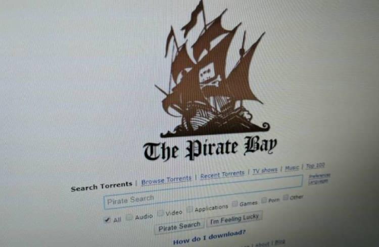Saiba quanto o site The Pirate Bay recebe em doações com criptomoedas