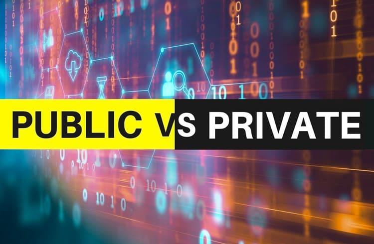 Quais as diferenças entre blockchain pública e blockchain privada?
