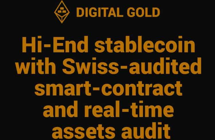 A DIGITAL GOLD está feliz em anunciar sua nova stablecoin lastreada no ouro