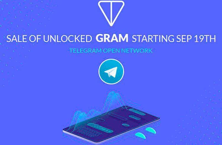 ATAIX leva tokens gram do Telegram ao público