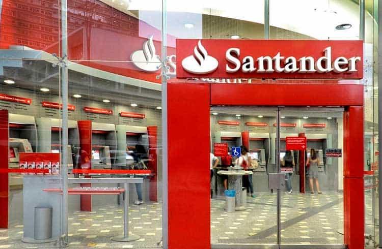 Banco Santander emite título usando blockchain publica do Ethereum