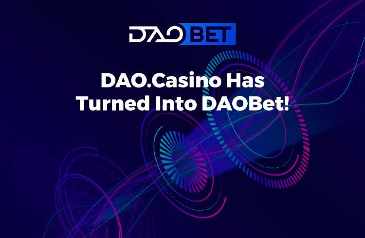 DAO.Casino anuncia estratégia de rebranding