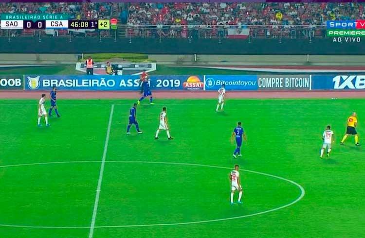 Exchange BitcoinToYou marca presença no Campeonato Brasileiro