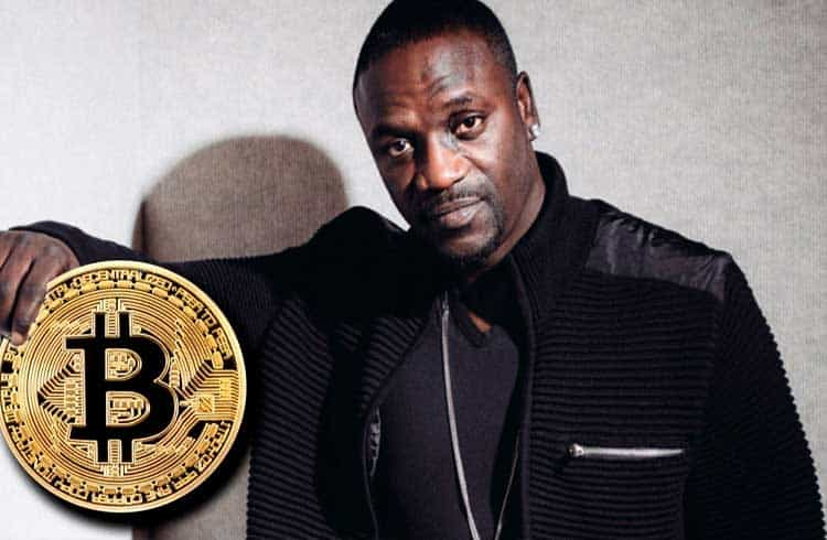 Ícone do hip hop Akon defende o Bitcoin