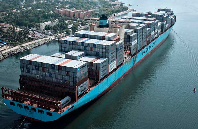 Maersk anuncia integração de blockchain em seis terminais no Brasil