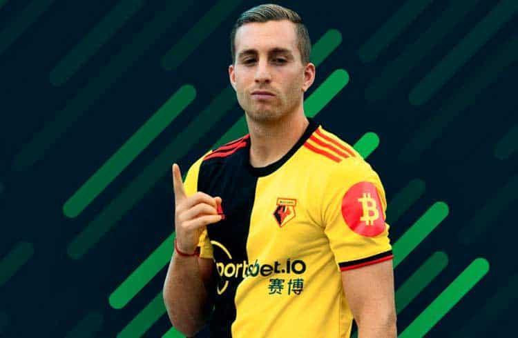 O Watford FC e seu patrocinador Sportsbet.io adicionam o símbolo do Bitcoin a camisa do time