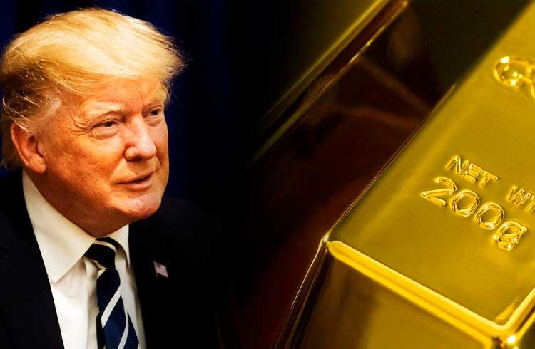 Ouro supera o Bitcoin em valorização enquanto Donald Trump enfrenta risco de impeachment