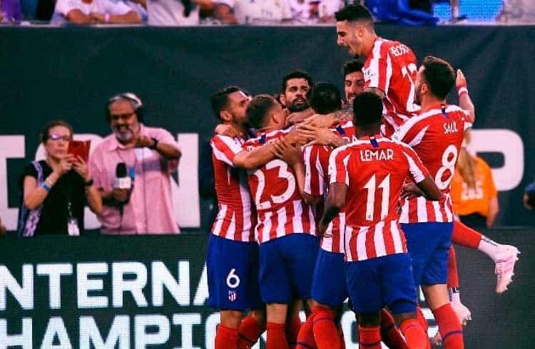 Time de futebol Atlético de Madri lançará token para seus torcedores