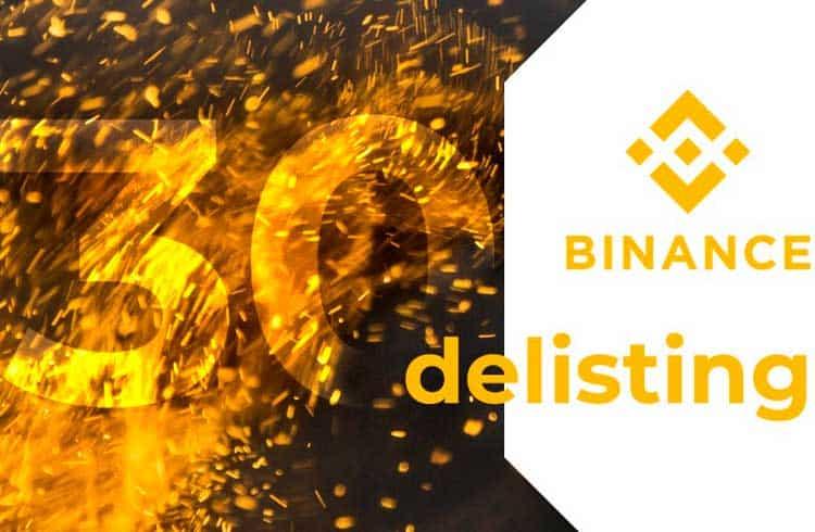 Binance exclui 30 pares de negociação de sua plataforma; Token da BitTorrent é afetado