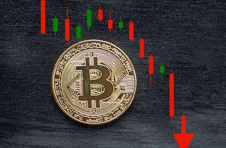 Bitcoin é cotado abaixo dos US$8 mil; Mercado de criptoativos em correção massiva