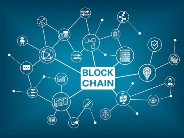 Ilustração sobre blockchain