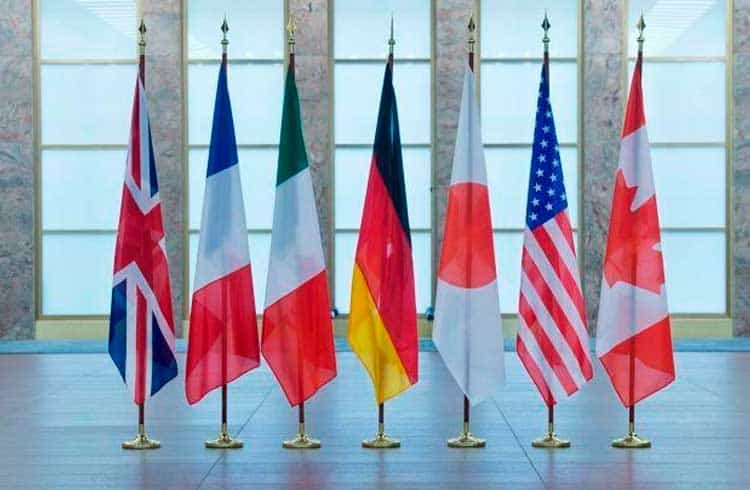 """G7 afirma que """"stablecoins globais"""" são uma ameaça ao sistema financeiro"""