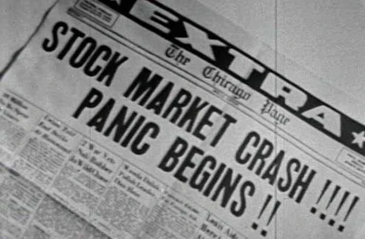 Há 90 anos, o mundo financeiro vivia sua maior crise