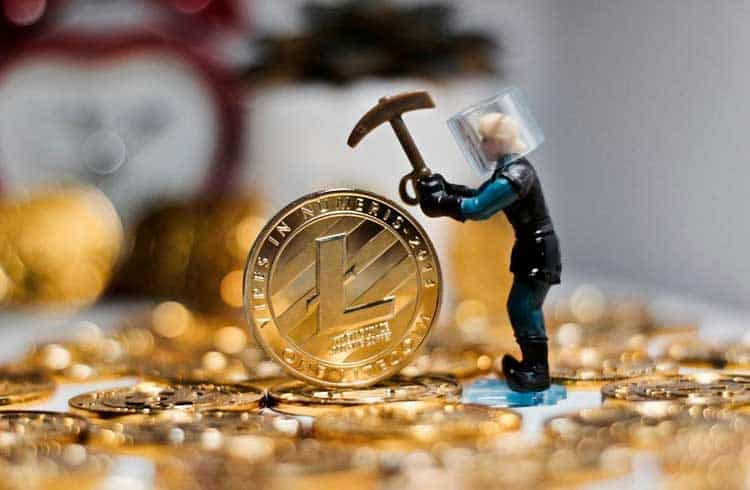 Poder computacional da Litecoin cai 60% desde o halving em agosto