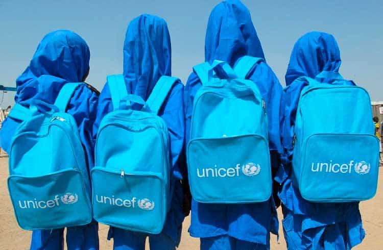 Unicef pode usar recursos de fundo de criptomoedas