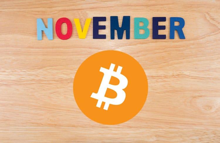 Halvings passados apontam para uma possível valorização do Bitcoin em novembro