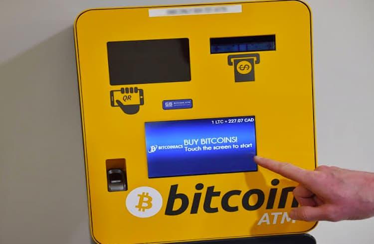 Caixas eletrônicos de Bitcoin