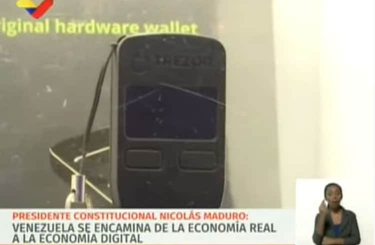 Trezor investiga autenticidade de carteiras exibidas em programa venezuelano