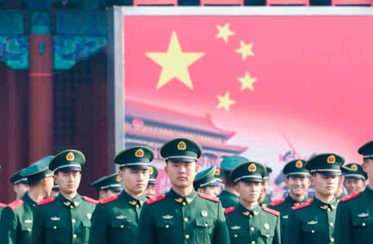 Publicação oficial do exército da China recomenda uso de blockchain na área militar