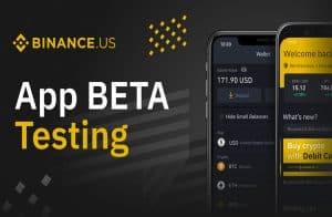 Binance dos EUA abre teste beta do iOS para todos usuários