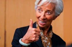 Christine Lagarde afirma que Banco Central Europeu estará à frente em relação a stablecoins