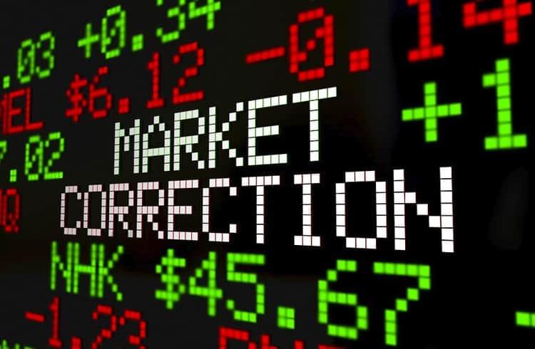 Mercado em correção; Tezos vai na contramão e valoriza nas últimas 24 horas