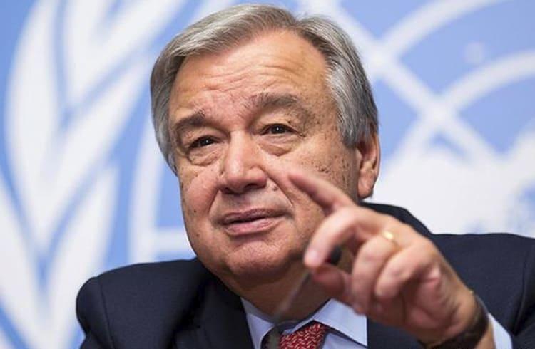 Secretário-geral da ONU diz que organização deve adotar blockchain