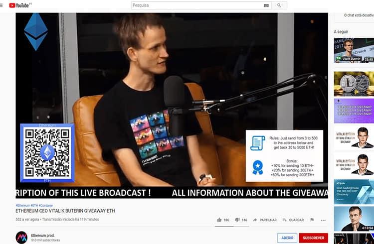 Hackers invadem canal de brasileiro no YouTube e exibem anúncios de criptomoedas