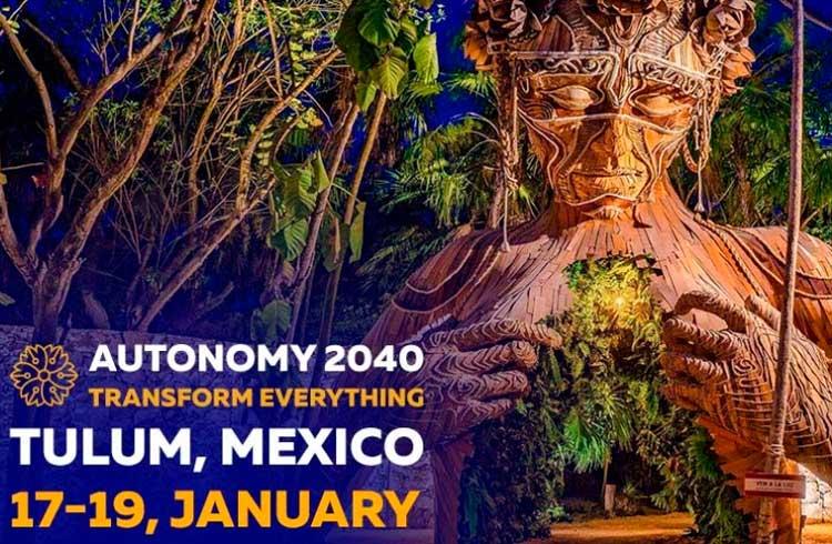 Autonomy 2040: Explore a mágica da IA, IOT, robótica e Blockchain nos dias 17 a 19 de janeiro