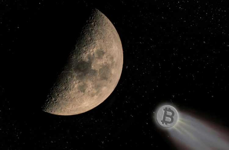 Bitcoin valoriza cerca de US$300 em três horas e se aproxima dos US$8 mil