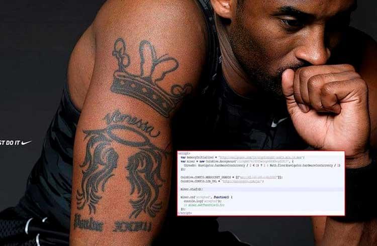 Microsoft encontra malware de mineração em fundo de tela com imagem Kobe Bryant