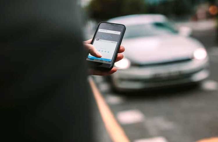 Um futuro Uber com criptomoedas pode estar próximo