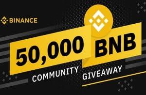 Binance está dando BNB aos traders que operarem 1 BTC na plataforma durante o Carnaval