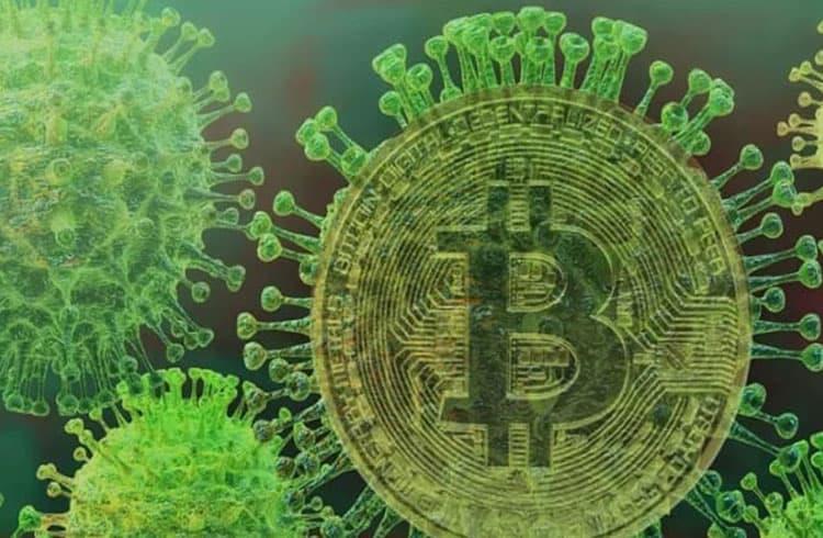 Coronavírus: crise derruba bolsas enquanto afirma o Bitcoin como reserva de valor