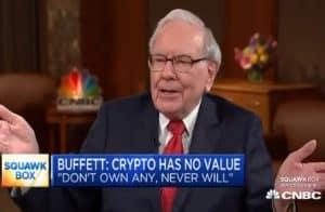 Warren Buffett doa Bitcoin presenteado por Justin Sun