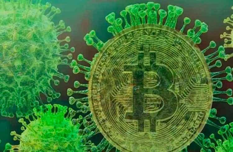Avanço do coronavírus pode colocar em xeque papel do Bitcoin como ativo de proteção?