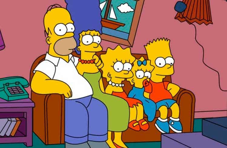 """Bitcoin invade episódio de """"Os Simpsons"""" com Jim Parsons, do Big Bang Theory"""