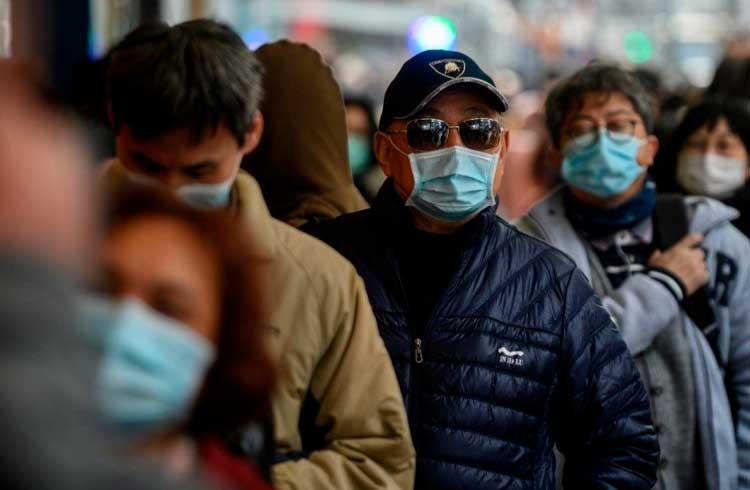 Coronavírus já está impactando industria cripto/blockchain na China
