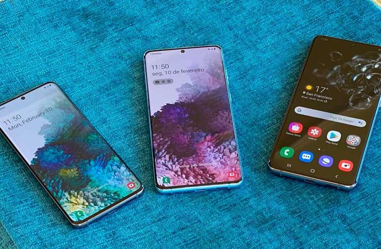 Samsung mantém suporte a criptoativos em seu novo smartphone
