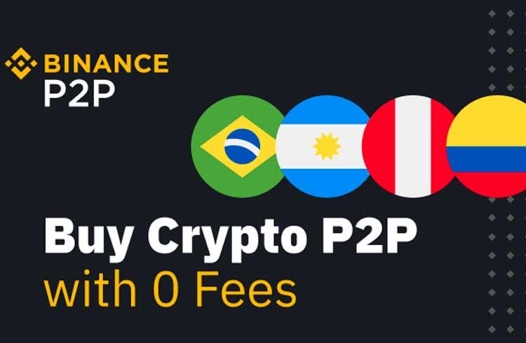 Binance lança plataforma P2P na América Latina com suporte para Real