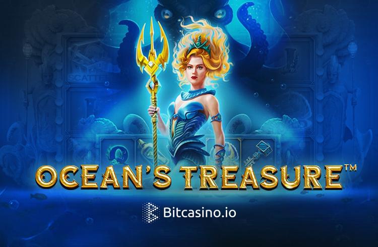 Bitcasino.io te convida para conhecer o Ocean's Treasure, seu mais novo slot